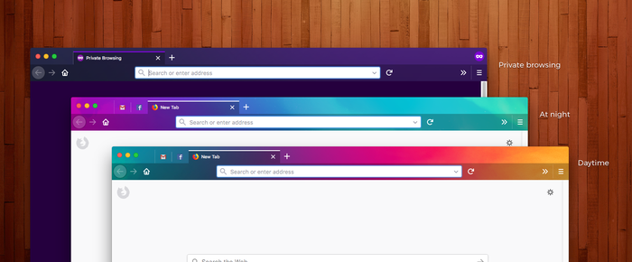 fun with themes in firefox